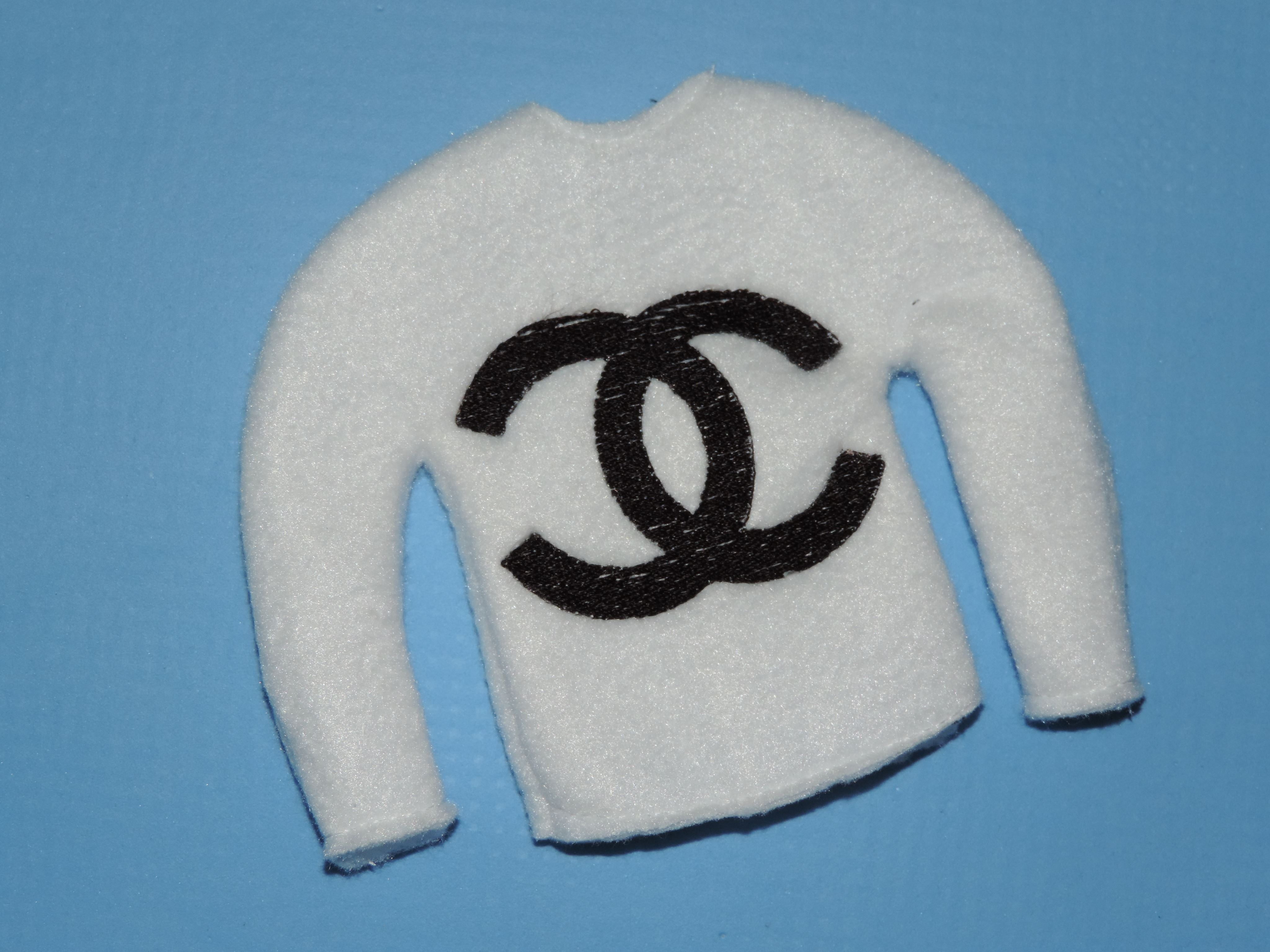 Elf Sweater Chanel Embroidery Design