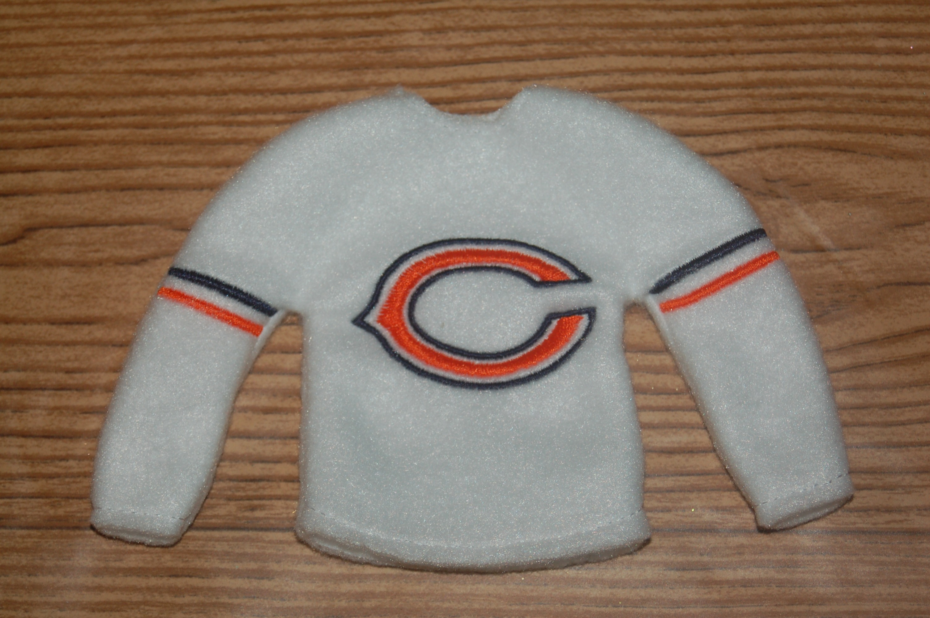 Chicago Bears Elf Sweater Embroidery Design