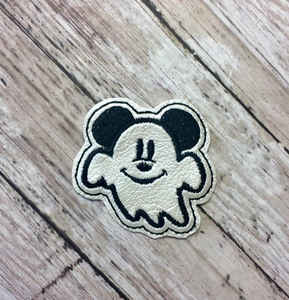 Mr Mouse Ghost Feltie Embroidery Design
