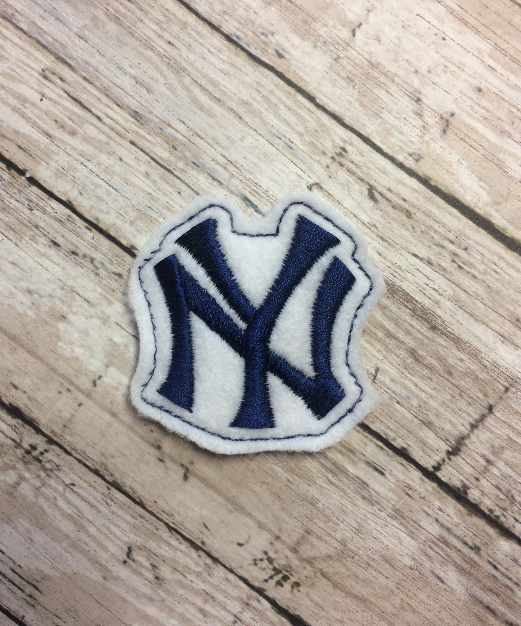 NY Yankees Feltie Embroidery Design
