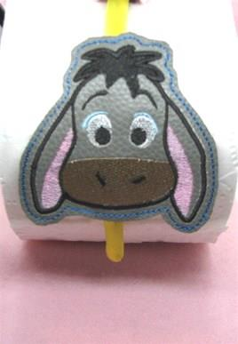 Eeyore Headband Slider Embroidery Desgin