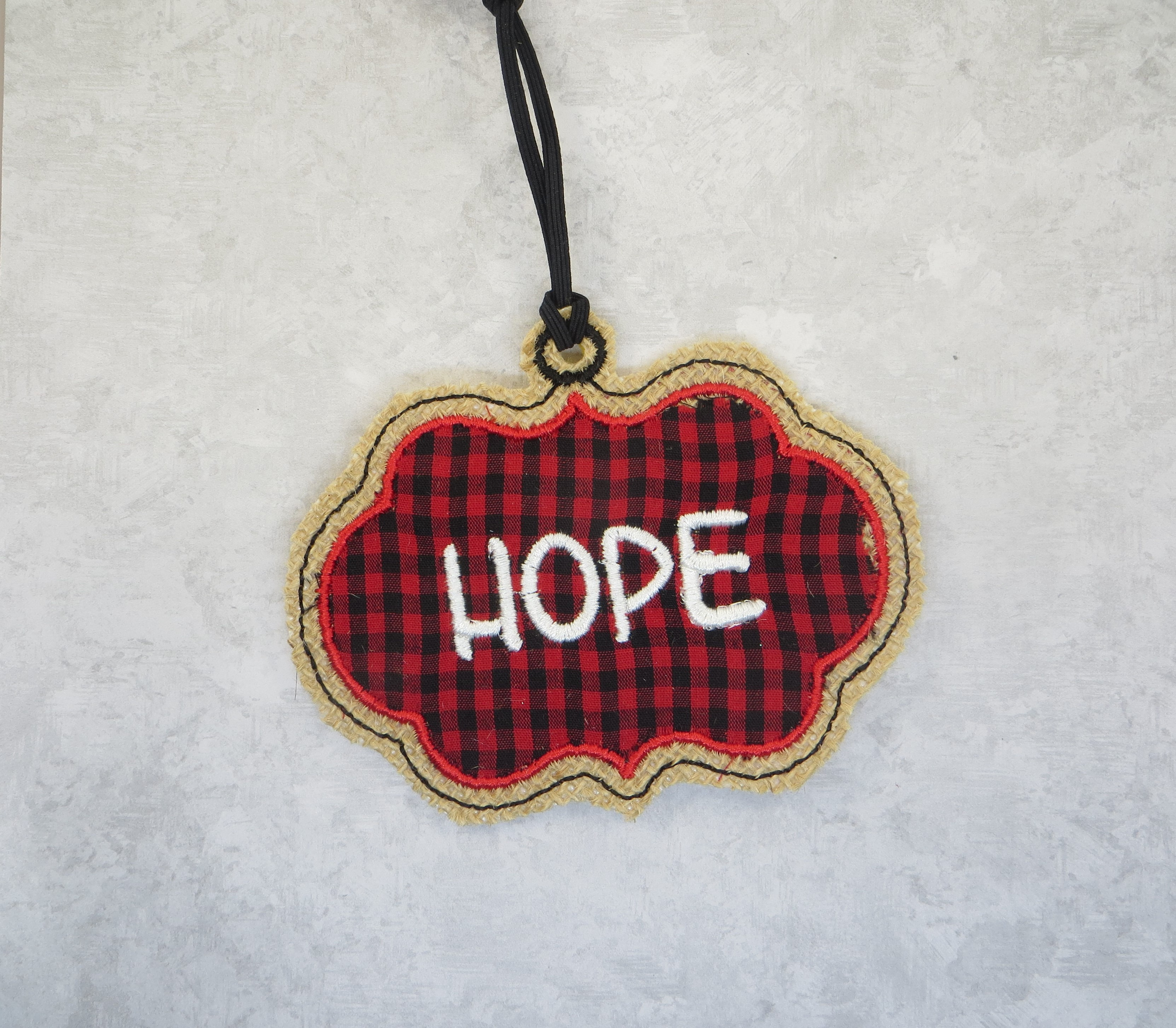 Love, Faith, Hope and Joy Ornaments Embroidery Design