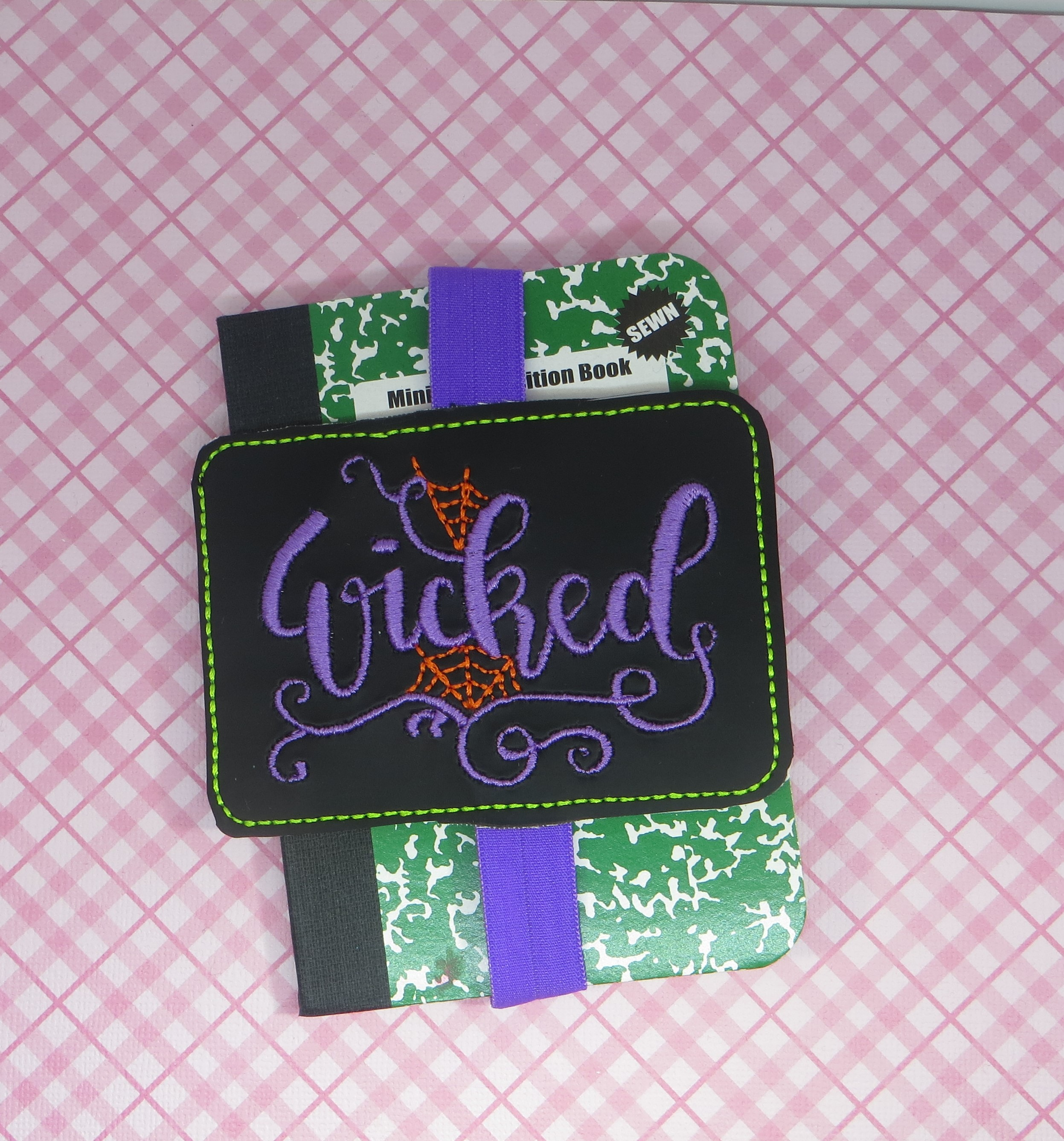 Wicked Planner Band Embroidery Design