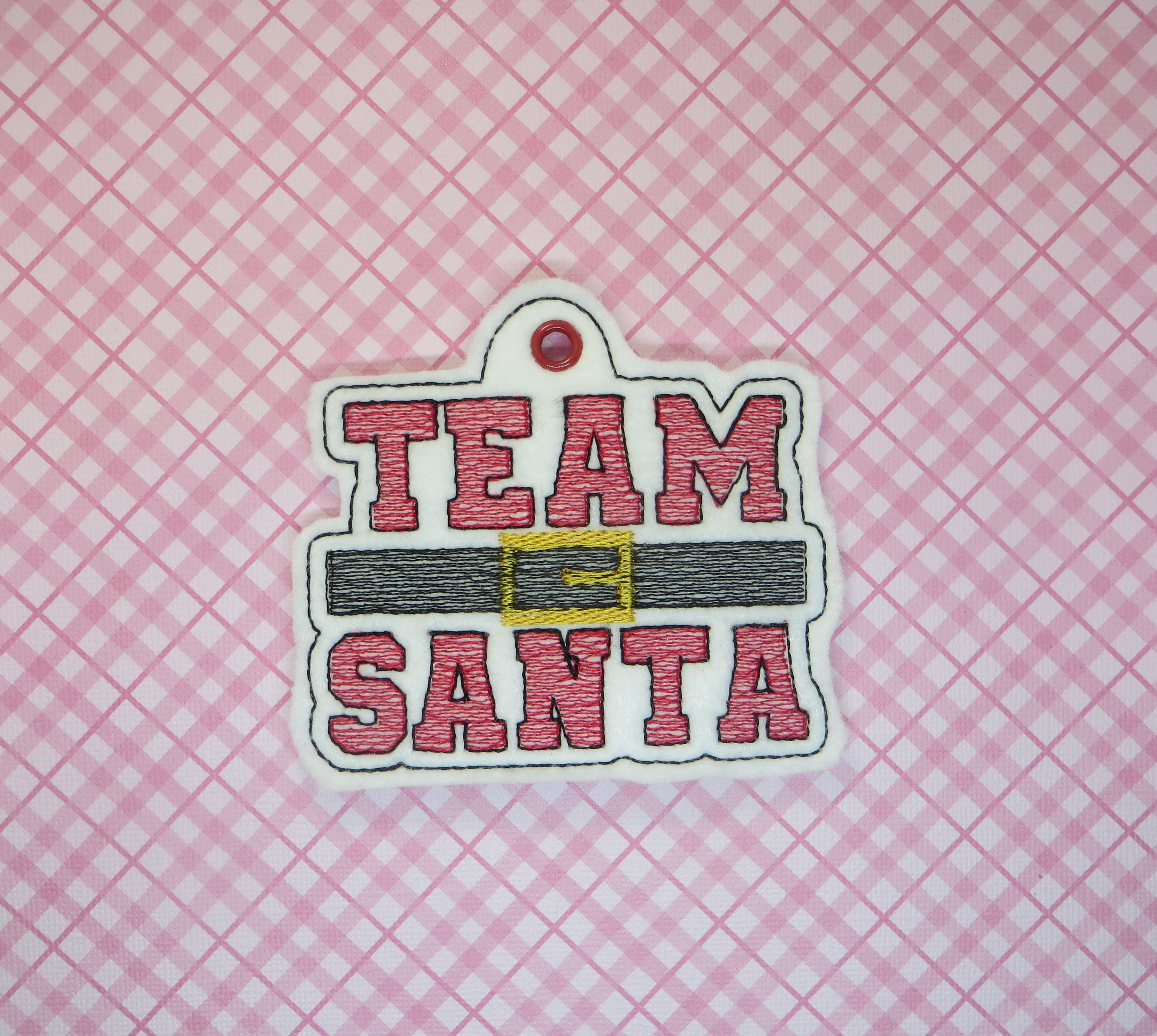 Team Santa Ornament