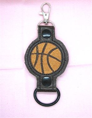Basketball Water Bottle Holder Embroidery Design