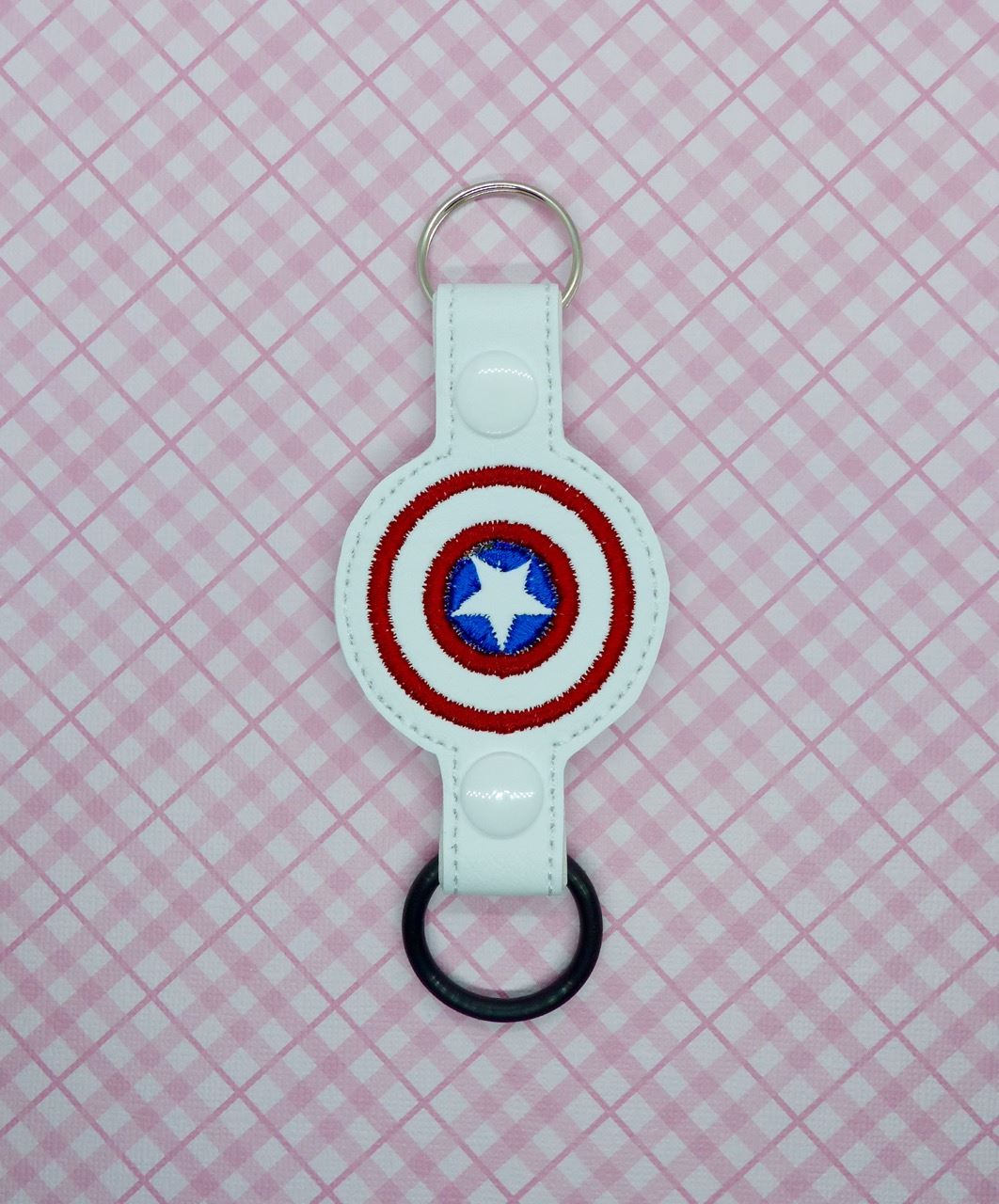 Captain America Water Bottle Holder Embroidery Design