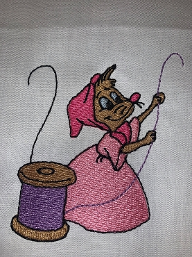 Suzy Sewing In the Hoop Embroidery Design (4X4)