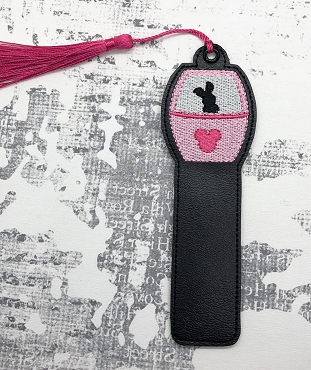Piglet Skyliner Bookmark Embroidery Design