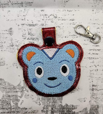 Filbert from Animal Crossing Snaptab / Keyfob Embroidery Design