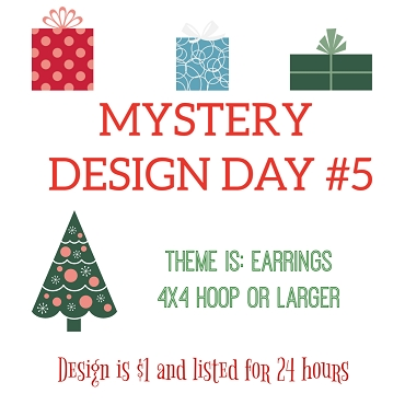 Mystery Design #5 - Friday