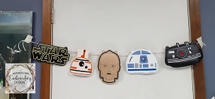 Star Wars Banner Embroidery Design (6x10)