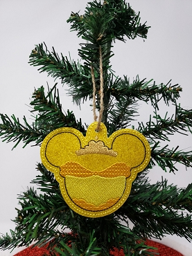Beauty Ornament Embroidery Design