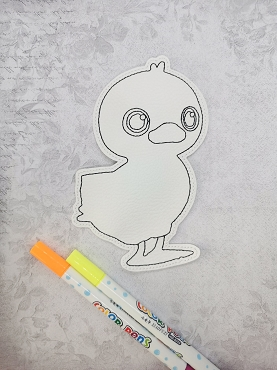 Chick and Cody Cocomelon Coloring Dolls Embroidery Design