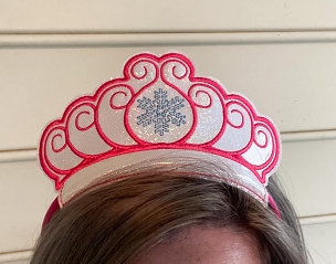 Princess Crown 2 Embroidery Design