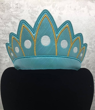 Princess Crown 3 Embroidery Design