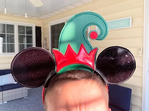 Elf Hat Ears Embroidery Design