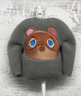 Tom Nook Elf Sweater Embroidery Design
