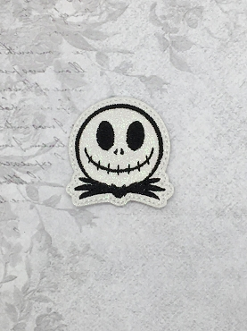 Mr Skeleton Feltie Embroidery Design