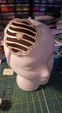 Headband Slider Embroidery Design