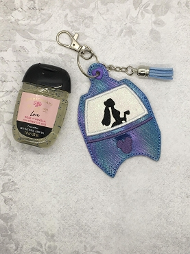 Constance Skyliner Hand Sanitizer Embroidery Design