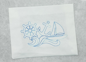 Nautical Design In The Hoop Embroidery Design