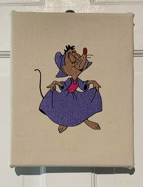 Perla Mouse In The Hoop Embroidery Design (5x7)
