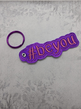 #beyou KeyFob Embroidery Design