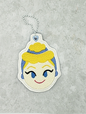 Midnight Princess and Helpers Ornaments Embroidery Design (set of 4)
