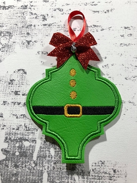 Elf Body Fancy Ornament Embroidery Design