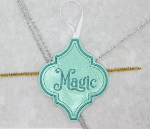 Magic Fancy Ornament Embroidery Design