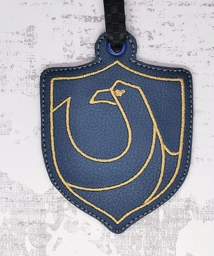 Ravenclaw House Ornament Embroidery Design
