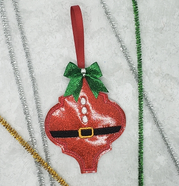 Santa Body Fancy Ornament Embroidery Design