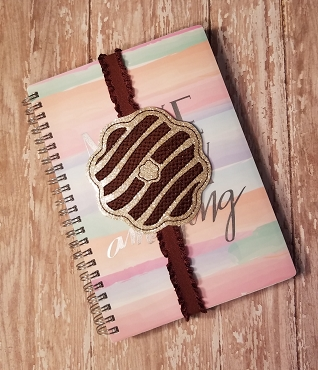 Planner Band Somoas Cookie Embroidery Design