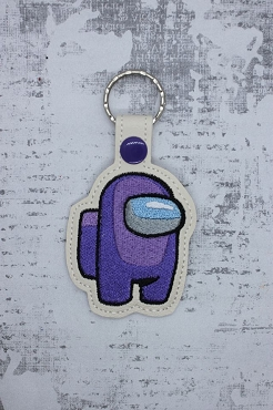 Among Us Snaptab / Keyfob Embroidery Design