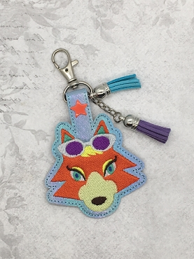 Audie Animal Crossing Snaptab / Keyfob Embroidery Design