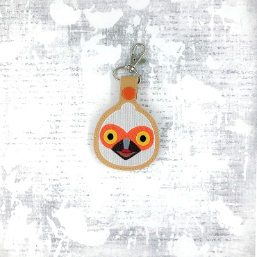 Crankston Animal Crossing Snaptab / Keyfob Embroidery Design
