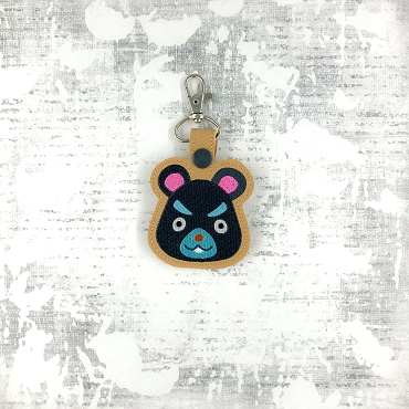 Hamphrey Animal Crossing Snaptab / Keyfob Embroidery Design