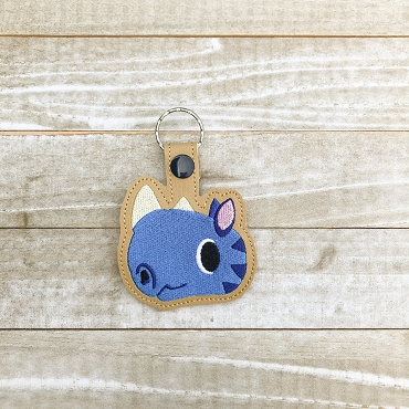 Hornsby Animal Crossing Snaptab / Keyfob Embroidery Design