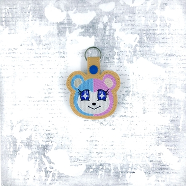 Judy Animal Crossing Snaptab / Keyfob Embroidery Design