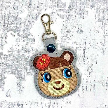 June Animal Crossing Snaptab / Keyfob Embroidery Design