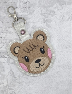 Maple Animal Crossing Snaptab / Keyfob Embroidery Design