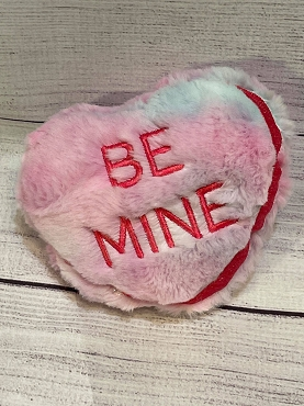 Be Mine Heart Stuffie Embroidery Design (6x10)