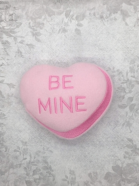 Be Mine Heart Stuffie Embroidery Design (4x4)
