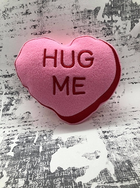 Hug Me Heart Stuffie Embroidery Design (6x10)
