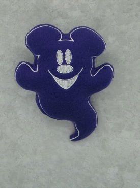 Mr Mouse Ghost Stuffie Embroidery Design (5x7)