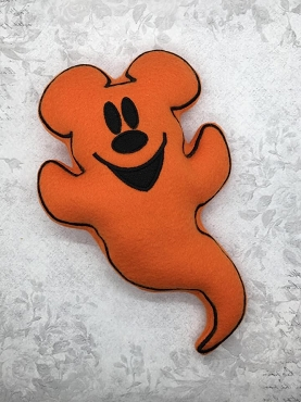 Mr Mouse Ghost Stuffie Embroidery Design (6x10)
