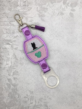 Mrs Duck Skyliner Water Bottle Holder Embroidery Design