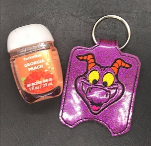 Figment Skyliner Water Bottle Holder Embroidery Design