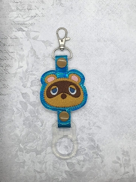 Tom Nook Water Bottle Holder Embroidery Design