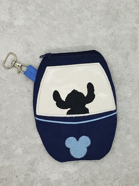 Stitch Skyliner Zipper Bag Embroidery Design (5x7 & 6x10, lined)